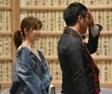 ムッシュかまやつさんお別れの会に参列した(左から)小嶋陽菜、小木博明 (C)ORICON NewS inc.