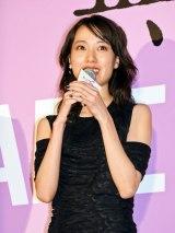 映画『無限の住人』初日舞台あいさつに登壇した戸田恵梨香 (C)ORICON NewS inc.