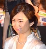 映画『ラストコップ THE MOVIE』の初日舞台あいさつに参加した和久井映見 (C)ORICON NewS inc.