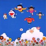 前回「THE ドラえもん展」村上隆さん出展作品「ぼくと弟とドラえもんとの夏休み」(2002年)(c)2002 Takashi Murakami/Kaikai Kiki Co., Ltd. All Rights Reserved.、Fujiko-Pro 2002