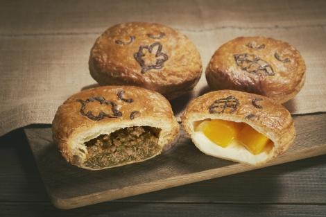 「パイフェイス」にパクチーやマンゴーを使った2種類のパイが登場!
