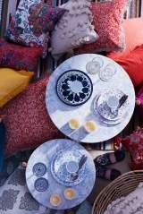 フランフラン2017年夏コレクション。モロッコタイルを模したプレート類