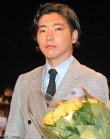 映画『追憶』公開初日舞台あいさつに登壇した柄本佑 (C)ORICON NewS inc.