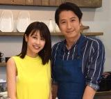 『谷原章介の25時ごはん』でTBSに初出演した加藤綾子(左)と谷原章介 (C)ORICON NewS inc.