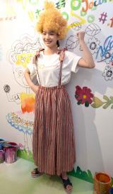 スペインのファッションブランド「Jocomomola de Sybilla」(ホコモモラ デ シビラ)とのコラボプロジェクト『ホコとのん Jocomomola x non』のイベントに参加したのん
