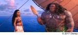 モアナの後日譚「マウイの魚釣りチャレンジ!」のワンシーンを公開