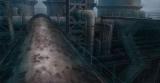 テレビアニメ『十二大戦』美術設定=廃工場(C)西尾維新・中村 光/集英社・十二大戦製作委員会