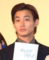 主演映画『サクラダリセット後篇』の初日舞台あいさつに登壇した野村周平 (C)ORICON NewS inc.