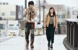 日本テレビ系連続ドラマ『フランケンシュタインの恋』に出演する(左から)綾野剛、二階堂ふみ(C)日本テレビ