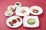 「東京ヴァンテアンクルーズ」船の上で食べるコース料理(※イメージ)