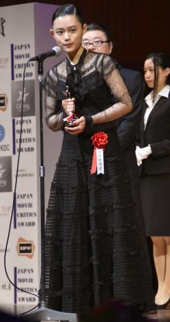 『第26回日本映画批評家大賞』の授賞式に出席した杉咲花 (C)ORICON NewS inc.
