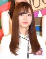 日本テレビ『NOGIBINGO!8』の初回収録に参加した乃木坂46の梅澤美波 (C)ORICON NewS inc.