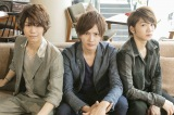 人気ミュージカル『テニスの王子様』出演者(左から)北川尚弥、財木琢磨、三浦宏規(C)WOWOW