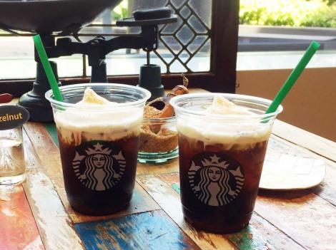 スターバックス コーヒー ジャパン初のコールドブリュー コーヒーを使った新作ドリンクを飲んでみた (C)oricon ME inc.