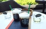 トップのクリームフォームがベースのコーヒーに溶けていく様子がたまらない (C)oricon ME inc.
