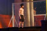 5月11日放送、TBS系『最強スポーツ男子頂上決戦』で注目を浴びた梶原颯(C)TBS