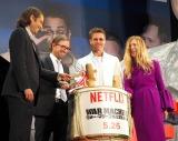Netflix『ウォー・マシーン:戦争は話術だ!』ジャパンプレミアの模様 (C)ORICON NewS inc.