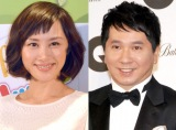 第3子出産を報告した山口もえ(左)と夫・爆笑問題の田中裕二 (C)ORICON NewS inc.