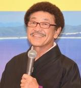 比嘉大吾選手が世界王座になった喜びを語った具志堅用高 (C)ORICON NewS inc.