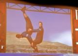この技にザ・たっちが挑戦=3DCGギャグショートアニメ『東京ふたごアスレチック』DVD発売記念記者イベント (C)ORICON NewS inc.