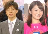 (左から)陣内智則、松村未央アナウンサー (C)ORICON NewS inc.