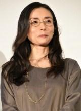 『家族はつらいよ2』初日舞台あいさつに出席した中島朋子 (C)ORICON NewS inc.