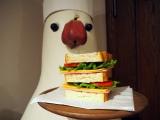 三鷹の森ジブリ美術館の企画展示『食べるを描く。』より。短編アニメーション『パン種とタマゴ姫』のパン種