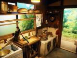 三鷹の森ジブリ美術館の企画展示『食べるを描く。』より。『となりのトトロ』草壁家の台所 (C)ORICON NewS inc.