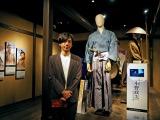 小野政次の衣装の前で「あの時の記憶がよみがえってきました」 (C)ORICON NewS inc.