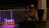 """ハワイを満喫する山里亮太=フジテレビ系『テラスハウス 特別編 """"YOUと山里は何しにハワイへ""""』"""