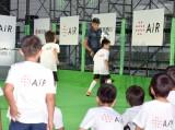 サッカーを通して子供たちと交流をしたネイマール選手 (C)ORICON NewS inc.
