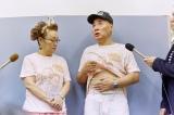 腰椎狭窄症の手術をした宮川大助(右)