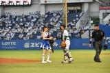 プロ野球「セ・パ交流戦」開幕戦の千葉ロッテマリーンズ対阪神タイガース戦に登場したモーニング娘。'17
