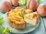 みずみずしい白桃が美しい、パブロの6月限定タルトが新登場!