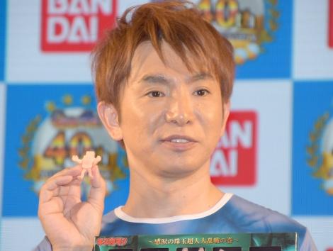 『祝・ガシャポン40周年!復活!「キンケシ」ステージ』に登場した濱口優 (C)ORICON NewS inc.
