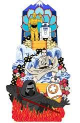 博多祇園山笠に「スター・ウォーズ山笠」登場へ (C)2017 Lucasfilm Ltd. & TM. All Rights Reserved