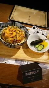 『東京喰種CAFE』で食べられる「亜門のかき揚げうどん」