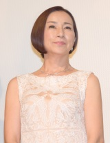 映画『海辺のリア』初日舞台あいさつに出席した原田美枝子 (C)ORICON NewS inc.