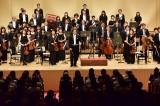 6月16日放送、NHK『LIFE!〜人生に捧げるコント〜』より。内村光良と東京フィルハーモニー交響楽団(C)NHK