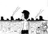 第1話では終戦直後の焼け野原から立ち上がり、居酒屋「ふじ」を始めた秘話を紹介(C)テレビ東京
