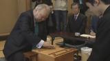 今年、最年長記録を更新した加藤棋士に引退の危機が…!?(C)NHK