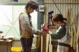 日本テレビ系連続ドラマ『フランケンシュタインの恋』に出演する(左から)綾野剛、川栄李奈(C)日本テレビ