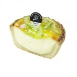 かぼすをふんだんに使ったチーズタルトは暑い季節にぴったり
