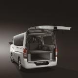 日産自動車「NV350キャラバン・リチウムイオンバッテリー搭載グランピングカー」