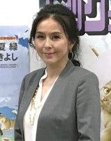 漫画『しっぽの声』の連載開始会見に出席した杉本彩 (C)ORICON NewS inc.