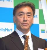 ファミリーマートの新戦略発表会に参加したファミリーマートの澤田貴司社長 (C)ORICON NewS inc.