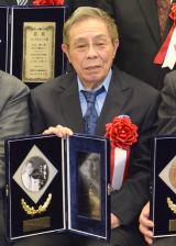 『第53回 平成28年度日本クラウンヒット賞』贈呈式に出席した北島三郎 (C)ORICON NewS inc.