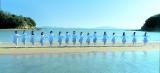 岡山県黒島ヴィーナスロード=STU48「瀬戸内の声」MVより(C)AKS
