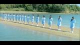 岡山県 黒島ヴィーナスロード=STU48「瀬戸内の声」MVより(C)AKS