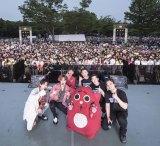 東京・代々木公園の野外ステージでフリーライブを開催したEXO-CBX